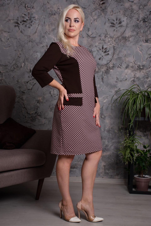 Платье Грация, размеры: с 44 по 52 - Купить по цене 900 руб. — Юнион-Текс